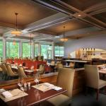 Watch the chefs at work while dining in Jefferson's Restaurant.