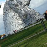 The Kelpies Attraction The Helix Falkirk within 5mins from Castle
