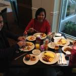 breakfast at Hilton Garden Inn
