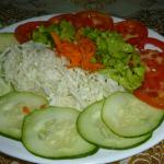 Salad with dinner