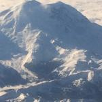 Mt. Ranier from the air.