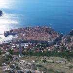 View from cable car in Dubrovnik