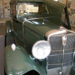 One of the older cars in the gift shop/waiting area