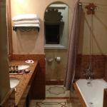 The bathroom interior