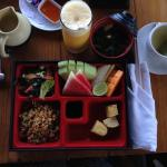 Breakfast Japanese bento