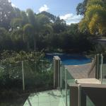Direct access to the pool!