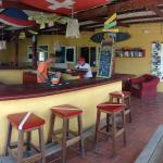 The Dive Hut - Bar and Restaurant area