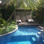 Pool in our villa