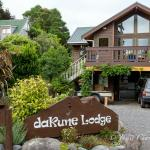 Dakune Lodge, Ohakune, New Zealand (entrance - side)