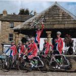 British Cycling Team Stayed in Alston YH in 2013