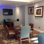 Coffee and bar area - lovely for morning coffee at The Beverley Arms Hotel.