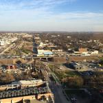 View of East Austin (& I-35) from the 20th Floor