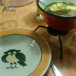 Suppe, serviert in der Extra-Terrine