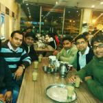 With friend-Sukhdev Vaishno Dhaba