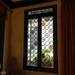 The stainglass windows