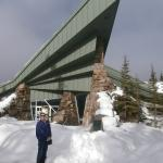 Lake Louise Visitor Center, within a short walk of the Loge.