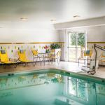 Enjoy our indoor swimming pool!