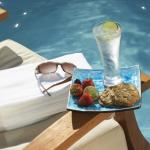Snacks at the pool