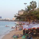 Pattaya beach 3 minutes walking from the hotel