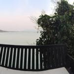 A panoramic view from our bedroom