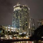 Grand Copthorne Waterfront Hotel Singapore - nightime