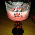 Yum. Raspberry Daiquiri...approx $13 for drink and cup