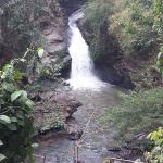 One of the waterfalls nearby the resort