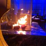 fire in the lobby