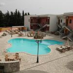 Inner courtyard and swimming pool