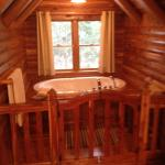Jacuzzi for two in loft