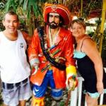 Me and Bob with Capn Morgan @ Tiki