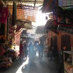 Into the souk.