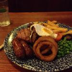 Wetherspoons mixed grill on a steak night plus drink £8 inclusive no contest