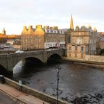 View of Wick from Mackays Hotel
