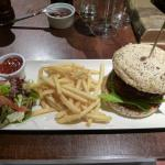 Burger main course
