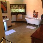 Excellent sized bathroom within the chalet