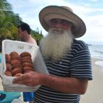 Local celebrity - Banana Doughnut Mann- You'll understand once you get there