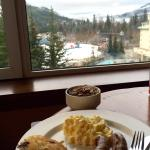 Fairmont Gold -hearty breakfast - weight gained!!