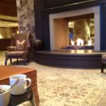 breakfast at the lobby