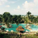 Bintan lagoon resort pool and pool bar
