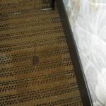 Dirty carpet with stains