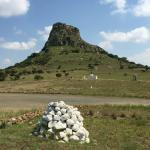 The battlefield at Isandlwana.