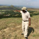 The commanding view of Isandlwana that the Zulu warriors would have had.