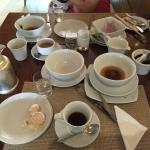 Poor service at breakfast - all the dirty dishes were sitting at the table despite 30% full!
