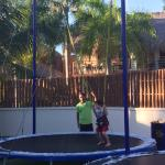 Trampoline at the Kids Club