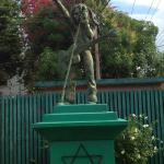 Rastafari  Statue on Front Grounds