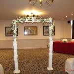 The arch in the Wedding room
