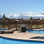Atlas mountains backdrop