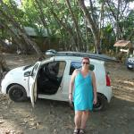 Me with my much too little car!