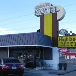 Cute older Route 66 motel, a great value